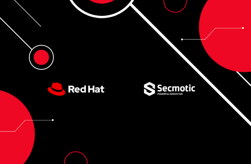 Secmotic agrees with Red Hat to integrate their services in FIWOO